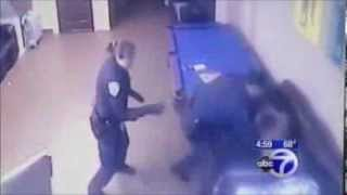 nypd cops wake up a sleeping homeless man before beating him half to death policebrutality us
