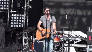 Chad Brownlee sings Mama Rock Me live Boots and Hearts 2013