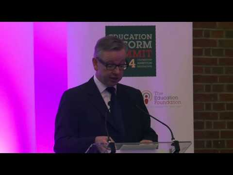 Education Reform Summit 2014 - Michael Gove