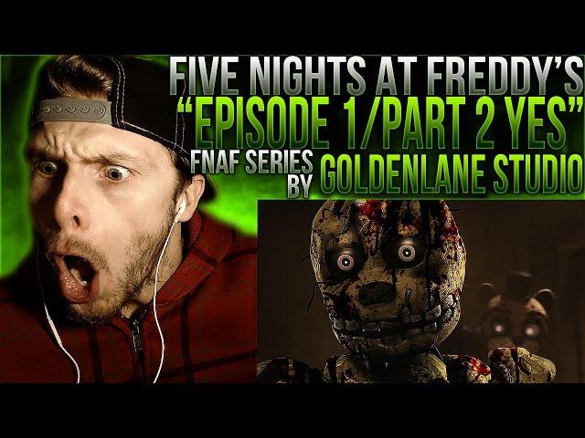 Vapor Reacts #174 | FNAF SFM SERIES Episode 1/ Part 2 YES by GoldenLane Studio REACTION!!