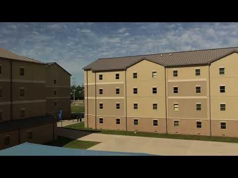 Fort Sam Houston Tech School Dorm Tour (Air Force Dorms)