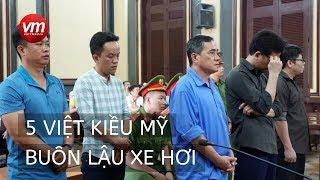 Buôn lậu xe hơi, 5 Việt Kiều Mỹ đối diện án tù tại Sài Gòn