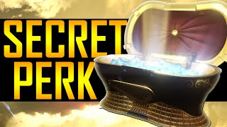 Destiny - SECRET CHEST LOCATOR PERK!