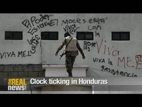 Clock ticking in Honduras