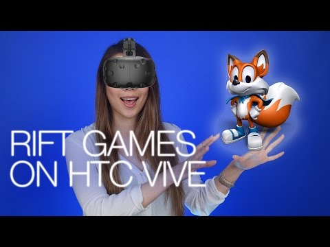 Rift games on Vive, Google Live Case, Razer ManO'War