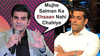 Arbaaz Khan Insults Salman Khan At New Pinch Chat Show Launch