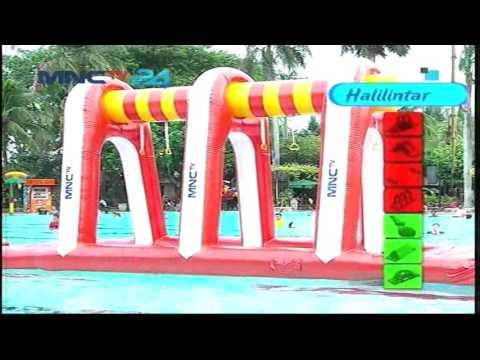 Susahnya Tantangan Halilintar Semua Peserta Gagal - Let's Get Wet (20/10)
