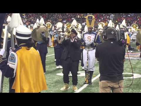 Nicholas Payton with Southern University Band