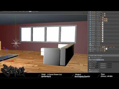 Room Design (Modeling)(Speed-Art)