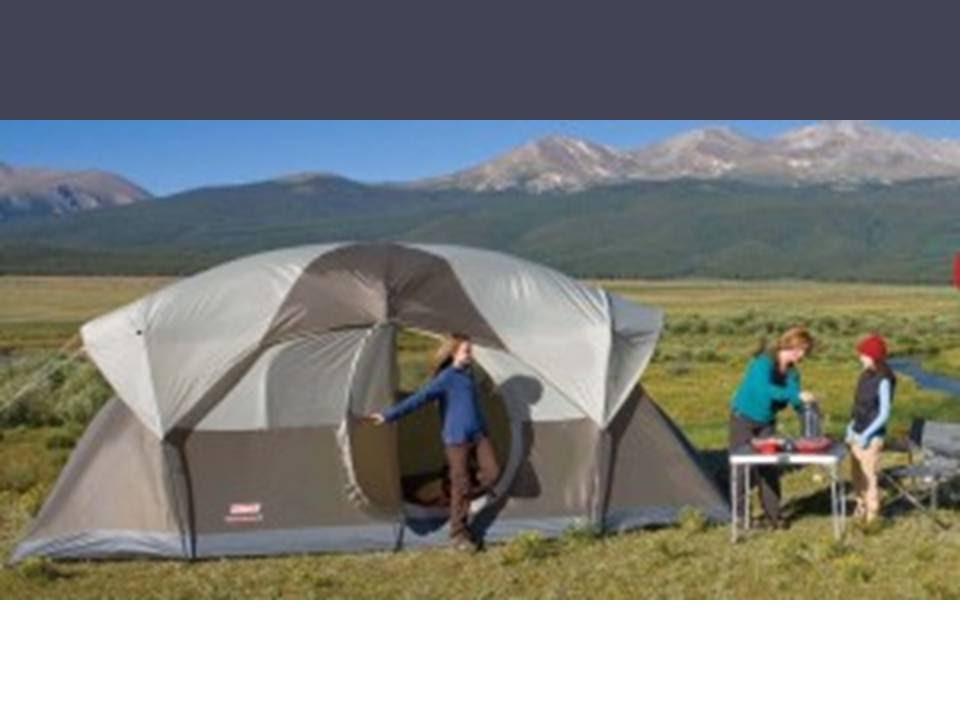 Coleman Camping Weathermaster 10 Person Tent Review Youtube