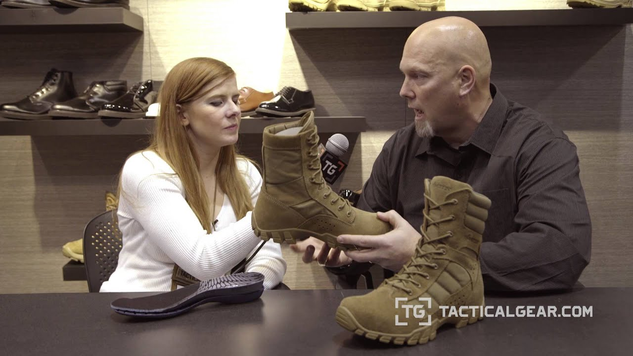 6c1c4a7d41e Bates Cobra Boots at SHOT Show 2016