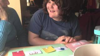 Abbey learns new words/ABA/Autism/Non verbal/reading/spelling/vocabulary