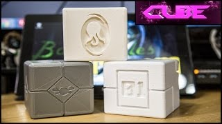 3D Printing Props for CUBE Movie Project - Comic Shop TV