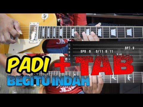 Tutorial Gitar Melodi PADI - BEGITU INDAH + TAB By Sobat P