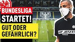 Bundesliga trotz Corona: Neustart spaltet die Fans!   FUSSBALL 2000 - Eintracht-Videopodcast