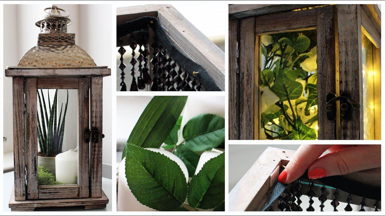 DIY Deko fr euer Zimmer - Laternen dekorieren - YouTube