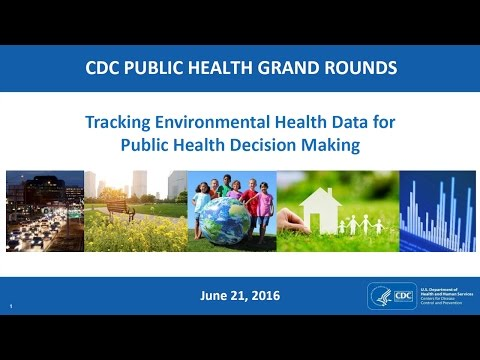 Tracking Environmental Health Data for Public Health Decision Making