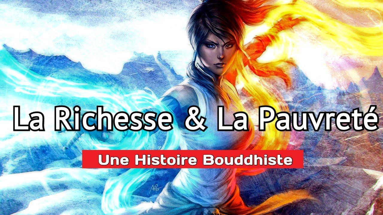 La Richesse et La Pauvreté - Une Histoire Courte Bouddhiste - YouTube