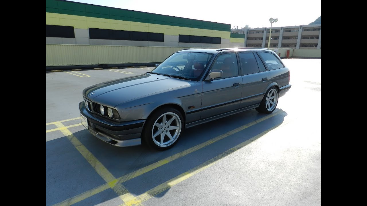 bmw 525i touring e34 iding stage3tuning 39 1993 youtube. Black Bedroom Furniture Sets. Home Design Ideas