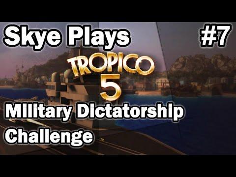 Tropico 5 ►Military Dictatorship Challenge #7 Manipulating the Factions◀ Gameplay/Tips Tropico 5