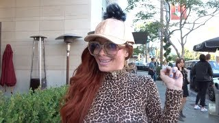 Phoebe Price talks about her BEEF w/Farrah Abraham wants a FIGHT!