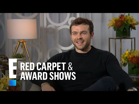 Alden Ehrenreich Talks Reaction to Landing Han Solo Role  E! Live from the Red Carpet