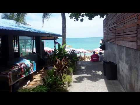 Lamai Beach on Koh Samui Thailand