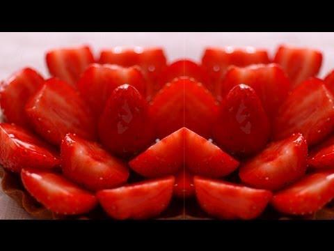 Tarte aux fraises : la recette