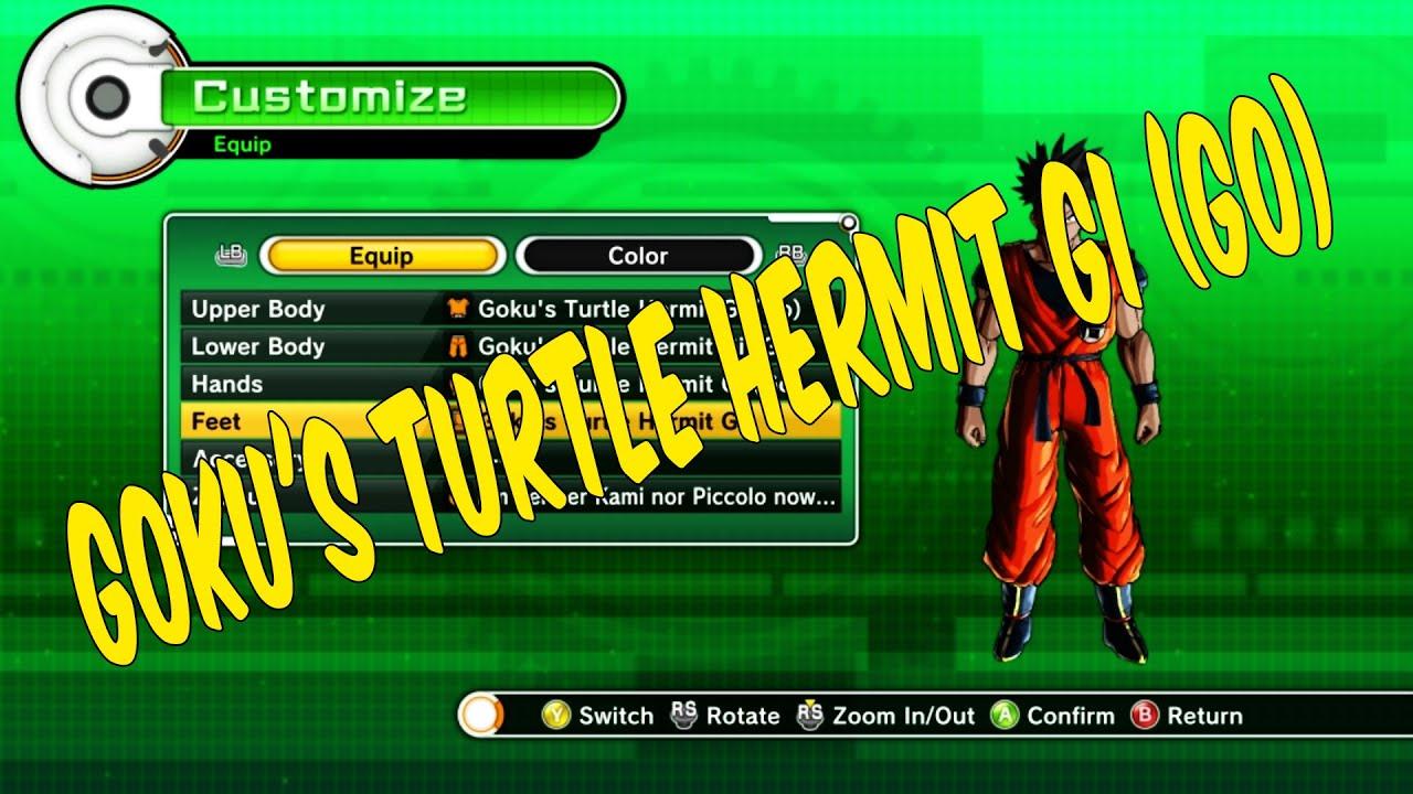 How To Get Gokus Turtle Hermit Gi Go In Dragon Ball Xenoverse