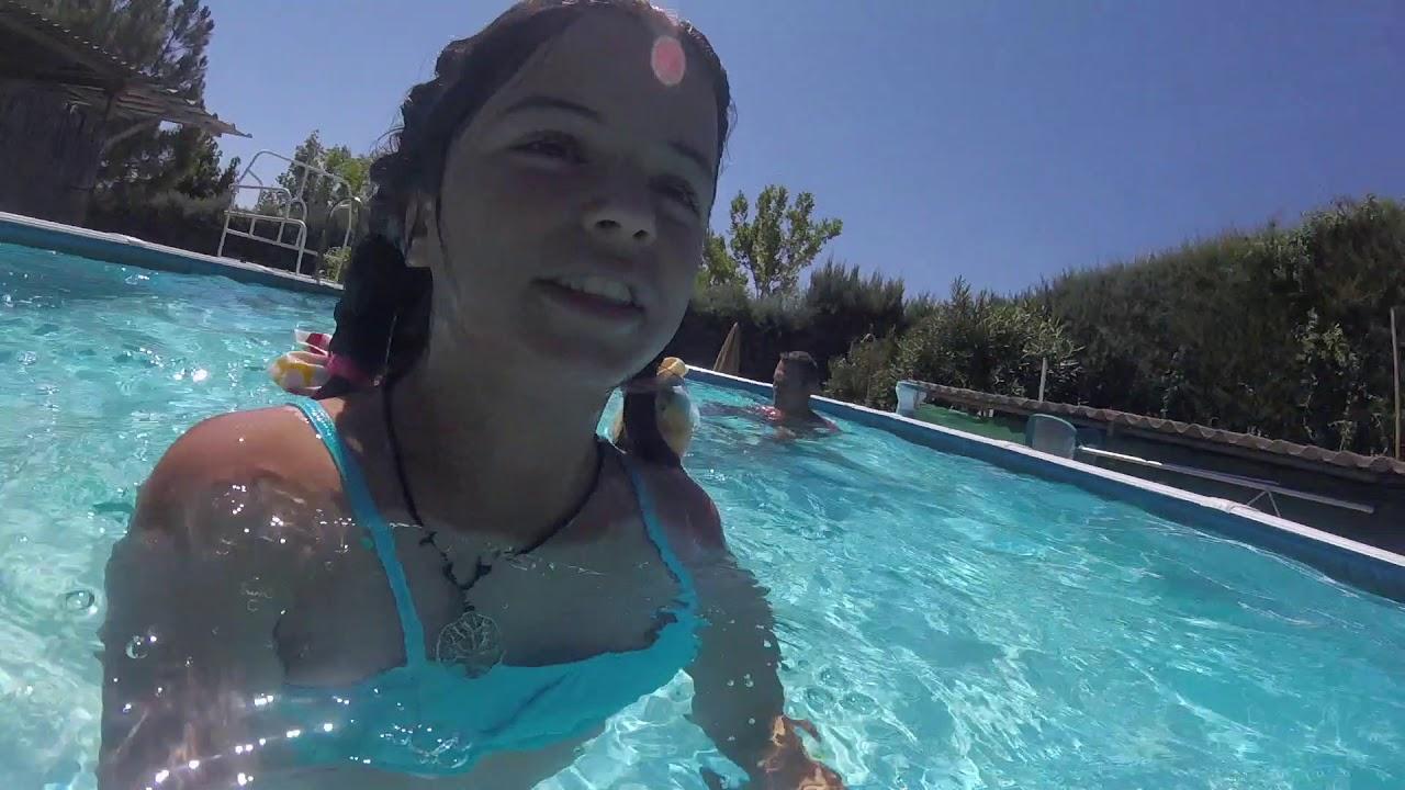 en la piscina guadalix con las ni as youtube
