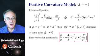 Lecture-3 Galaxies and Cosmology - Example Models