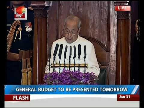 Full Event : President Mukherjee addresses joint session of parliament