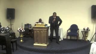 Phillip K Jones II - preaching Trust God Anyway