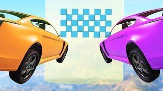 Самый сложный паркур на Револтере! Гонки на машинах в GTA 5 Online | MYE