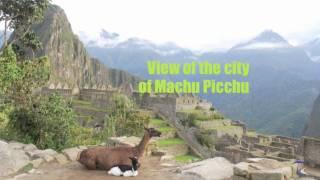 Seven Wonders of the World - Machu Picchu