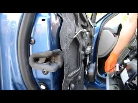 2003 Audi A4 Left Front Window Regulator Replacement B6  YouTube