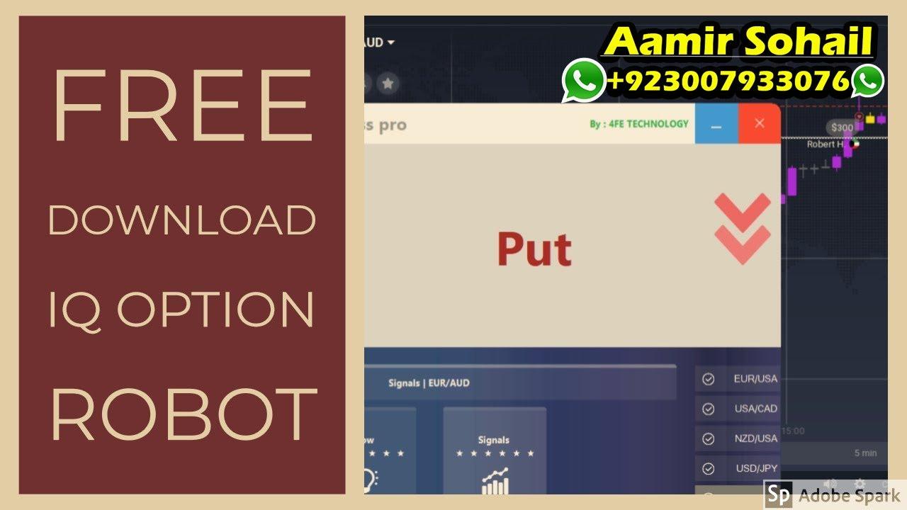 Iq Option Power Boss Pro Robot Bot Signal Free Download 2020