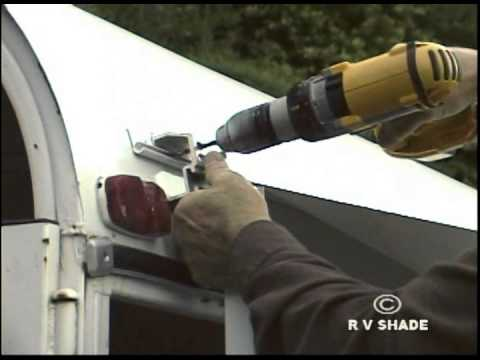 HORSE TRAILER AWNING INSTALLATION
