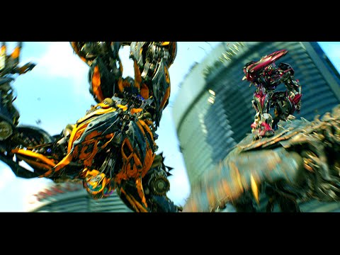 Transformers Age of Extinction - Bumblebee vs Stinger ...
