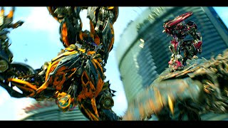 Transformers Age of Extinction  - Bumblebee vs Stinger Scene (1080pHD VO)