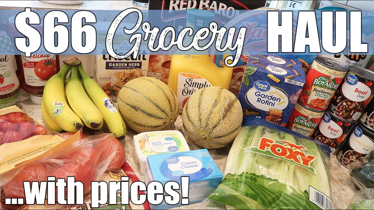 $66 Walmart Grocery Haul   Stay Safe at Home with No ...