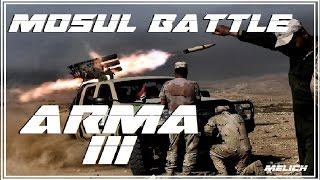 ARMA 3 : Mosul International Airport Battle !!