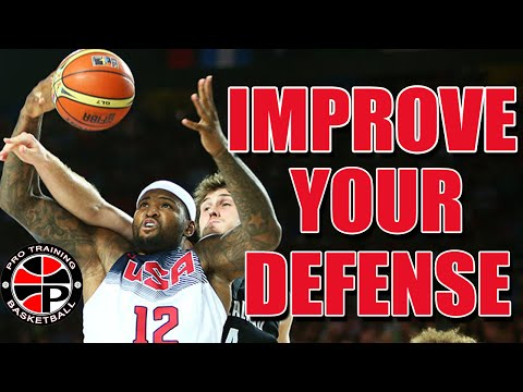 Drill For Rebounding | Improve Your Defense | Pro Training Basketball