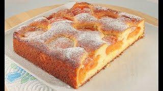 Абрикосовый Пирог * Потрясающе Вкусный * Очень Легкий Рецепт