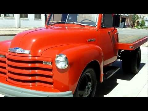1951 Chevrolet Dually Flatbed for sale