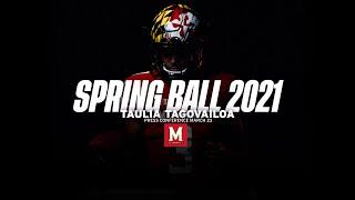 Maryland Football | Quarterback Taulia Tagovailoa Press Conference March 23, 2021