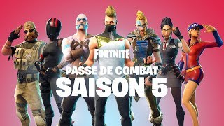 Fortnite Battle Royale - Fight Pass Season 5 Available Ps4