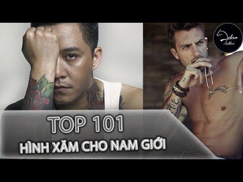 101 hình xăm đẹp nhất cho nam giới - Zebra Tattoo
