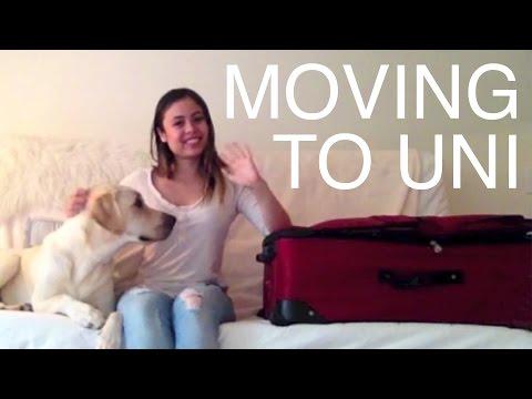 Moving to the University of Glasgow - Vanessa's Vlog