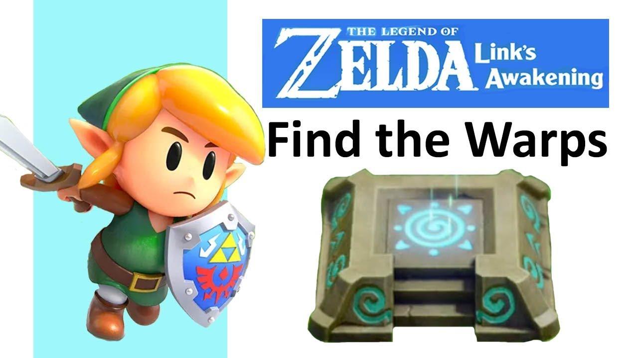 Legend Of Zelda Link S Awakening 10 Warp Locations